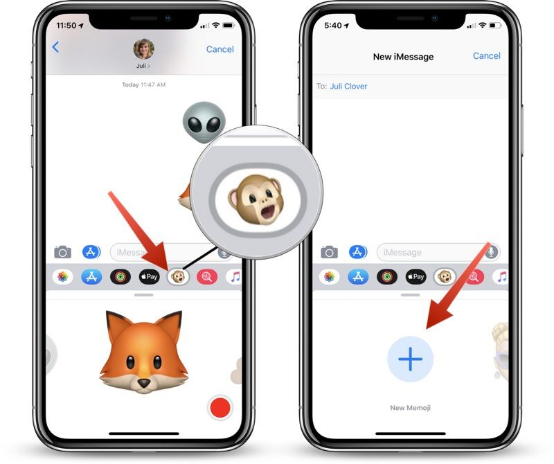 how to create and use memoji in ios 12