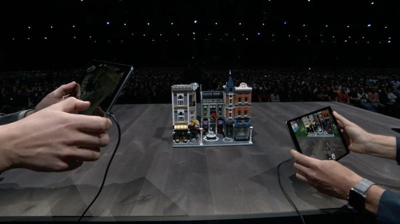 apple unveils arkit 2 and new lego ar app that connects to physical sets