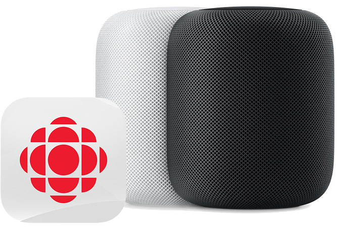 homepod can now read the news in canada where sales of the speaker begin monday