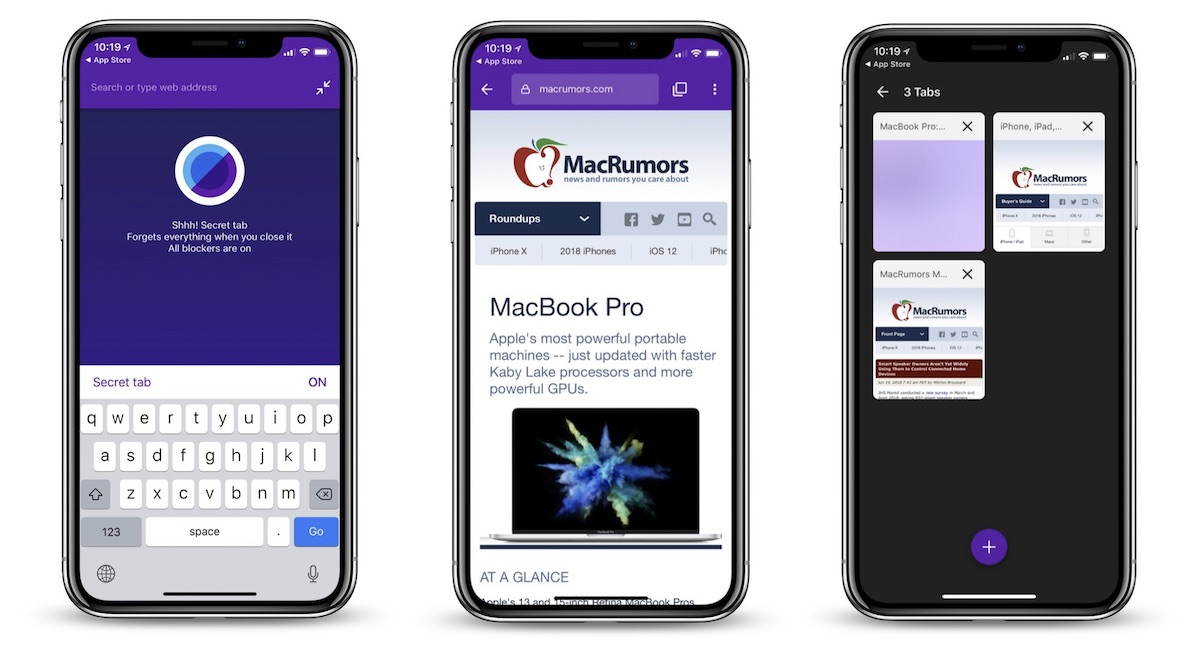keepsafe browser launches on ios with tracker blockers secret tabs touch id face id log ins and more