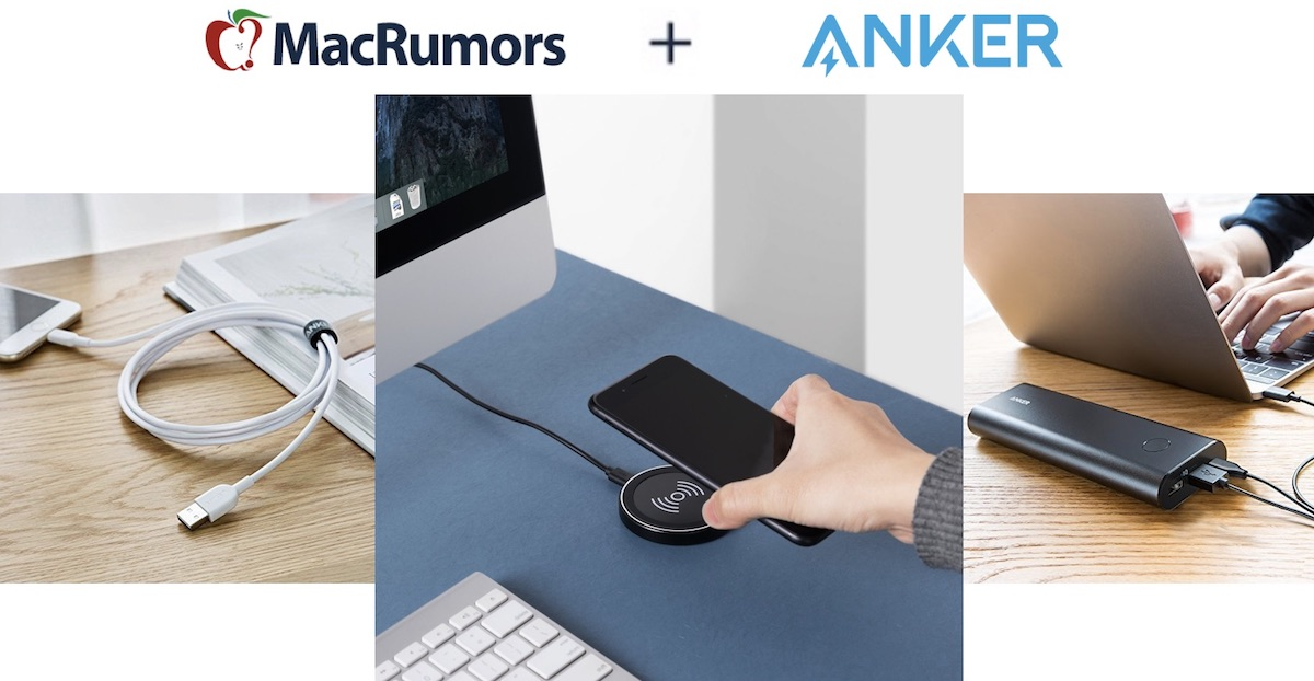 macrumors exclusive save up to 40 on anker s portable batteries lightning cables and more