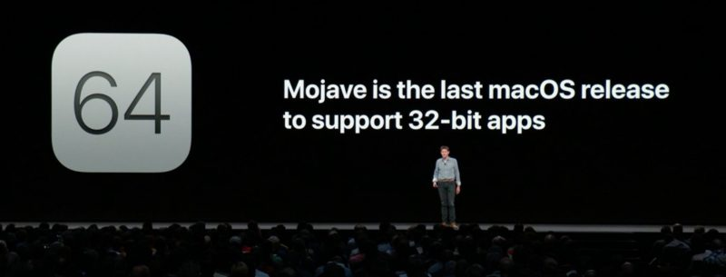 apple confirms mojave is the last macos release to support 32 bit apps