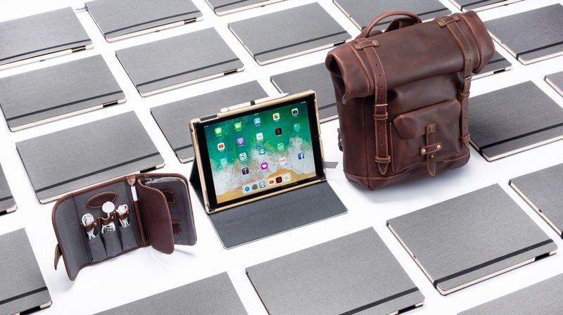 macrumors giveaway win a rolltop backpack techfolio and ipad pro case from pad quill