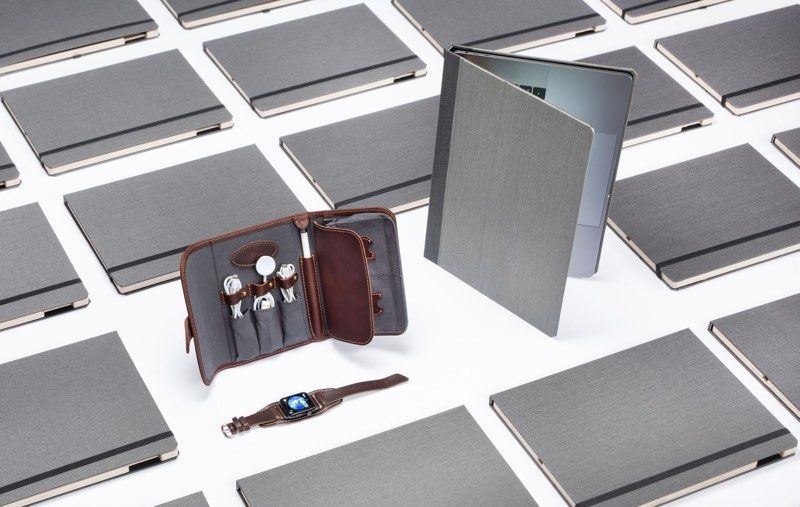 macrumors giveaway win a macbook case techfolio and apple watch cuff from pad quill