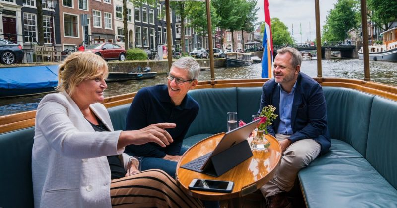apple ceo tim cook meets iphone photographer in amsterdam updated