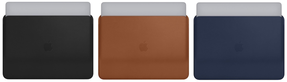 apple debuts new leather sleeves for 13 inch and 15 inch macbook pro