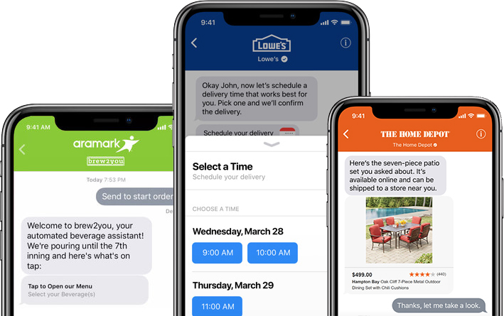 apple business chat expands to dish network philadelphia phillies american express and others