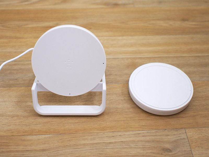 review belkin s boost up wireless charging stand and pad feature 7 5w speeds and quality designs but price is high