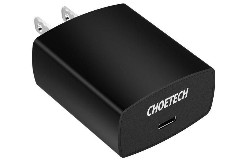 macrumors giveaway win an 18w usb c power adapter from choetech