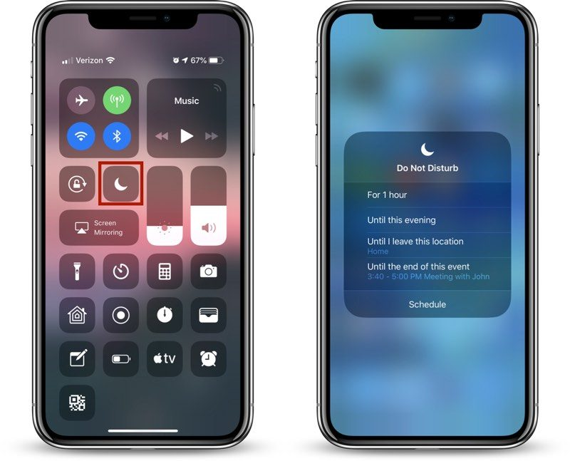 how to use ios 12 s new do not disturb options