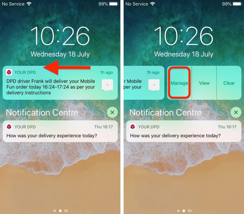 how to use instant tuning in ios 12 and change notification behavior on the fly
