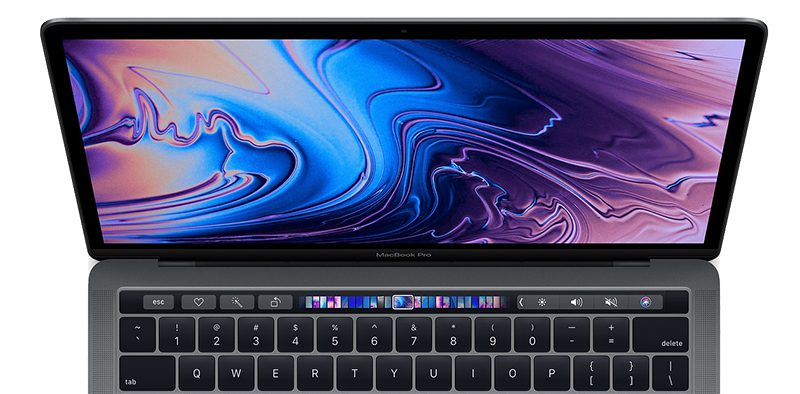 true tone on new macbook pro relies on multi channel ambient light sensor with display open to work