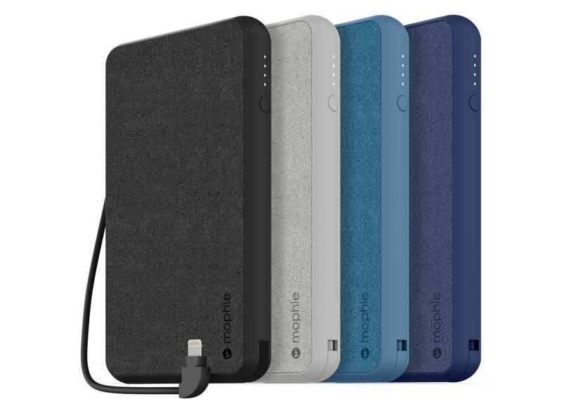 mophie announces new apple exclusive powerstation portable chargers with lightning ports