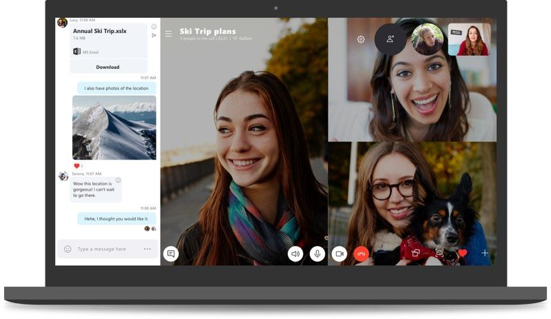 microsoft recommends all customers upgrade to skype 8 with skype 7 set to be sunset in september