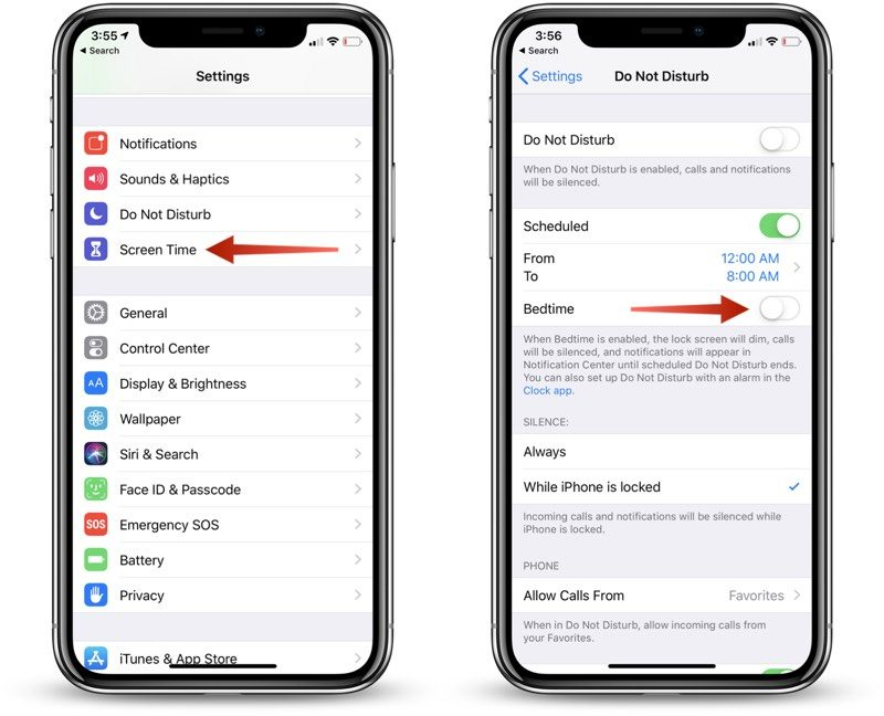 how to enable ios 12 s new do not disturb at bedtime feature