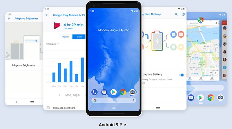 google releases android 9 pie as previous oreo release is installed on just 12 of devices