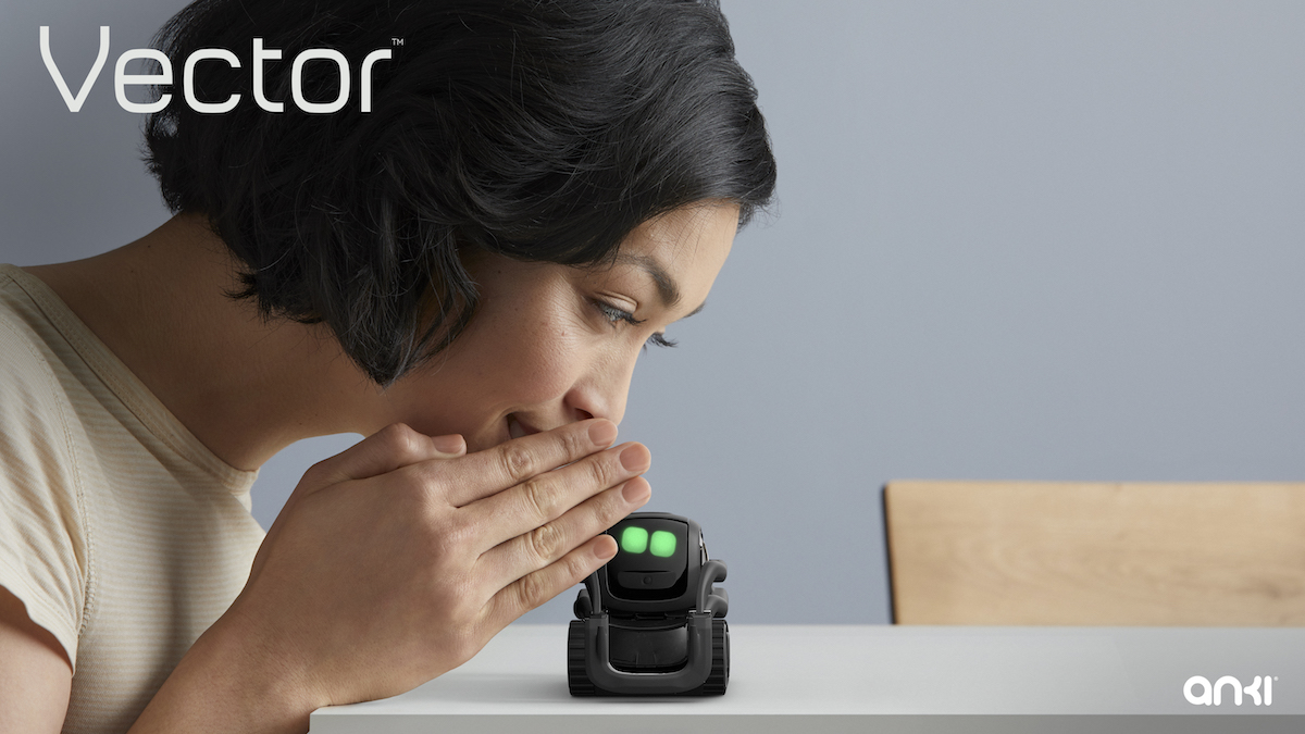anki reveals autonomous vector home robot with ai learning to help around the house