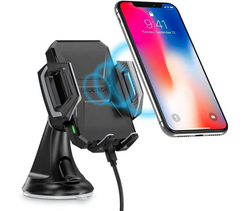 macrumors giveaway win a 7 5w wireless car charger from choetech
