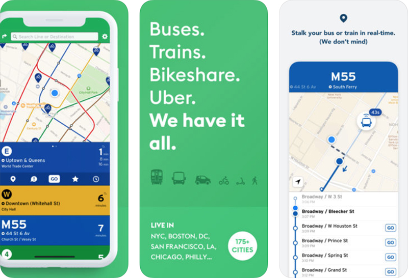 transit app expands real time crowdsourced data to 175 cities