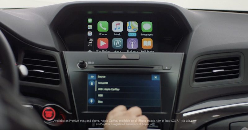 CarPlay Available in Acura ILX Starting With 2019 Model ...