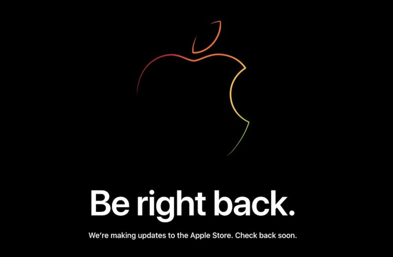 apple s online store down ahead of iphone xr pre orders