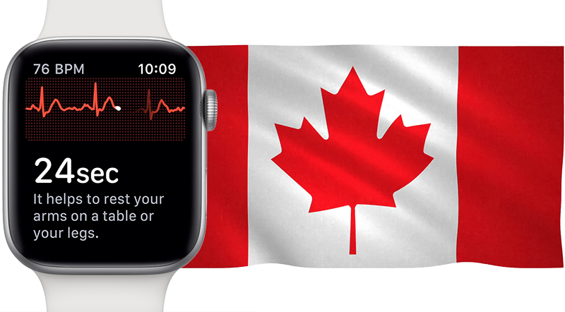apple working with health canada to bring apple watch series 4 s ecg functionality to canadian market