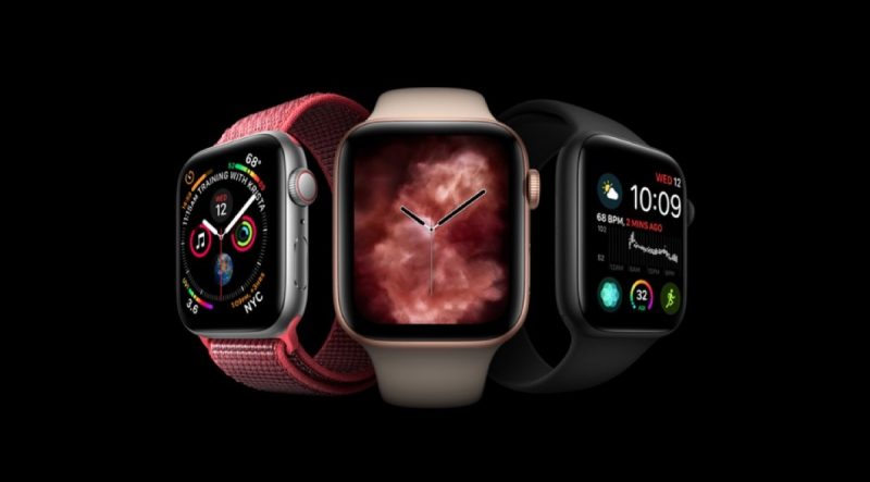 apple unveils apple watch series 4 with 30 percent larger display thinner body ecg reader fall detection and more