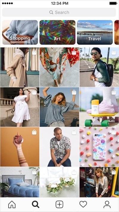 instagram expands shopping in stories adds shopping to explore