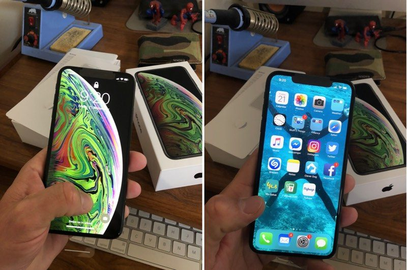 first impressions from new iphone xs and iphone xs max users