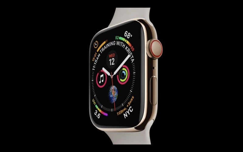 apple unveils apple watch series 4 with larger displays and new heart detection features starting at 399