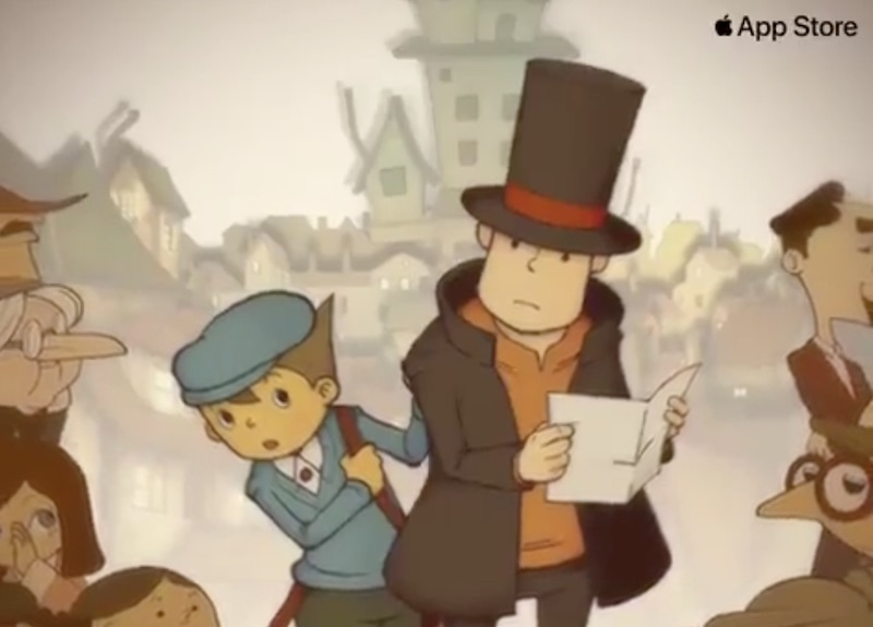nintendo ds game professor layton and the curious village coming to ios app store in u s