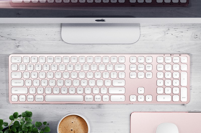 satechi launches new wired and wireless aluminum keyboards designed for imac and imac pro