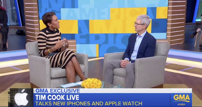 tim cook on iphone xs people want the most innovative phone possible and it s not cheap to do that