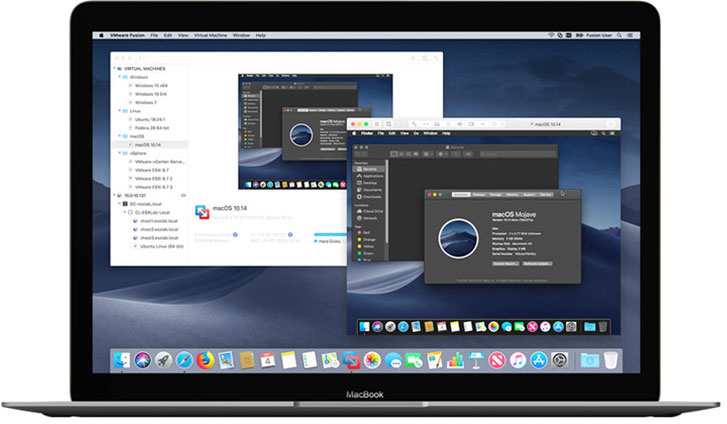 vmware fusion 11 released with support for macos mojave 18 core imac pro and more