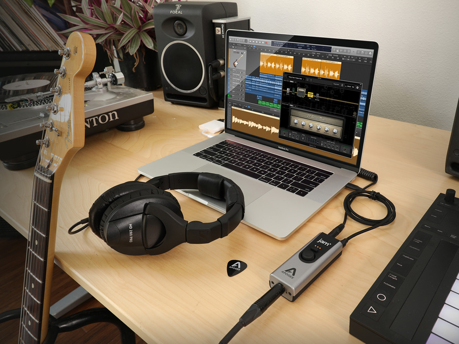 apogee launches 160 jam for studio grade audio recording on macos and ios