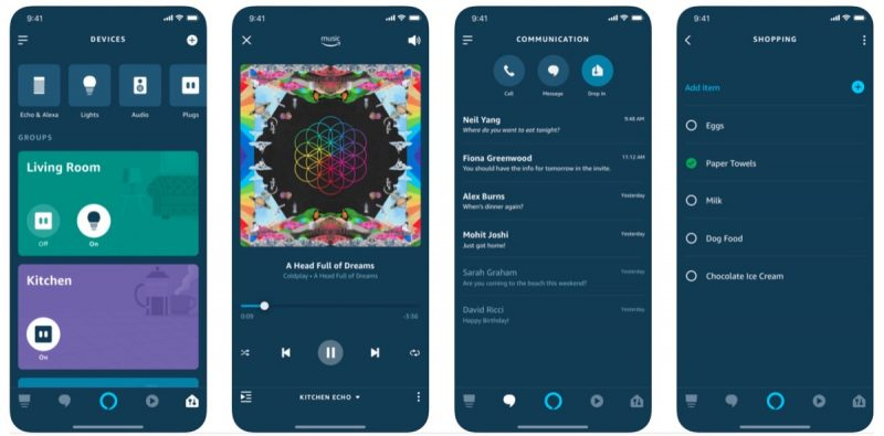 amazon alexa app gains redesigned interface for controlling devices and groups
