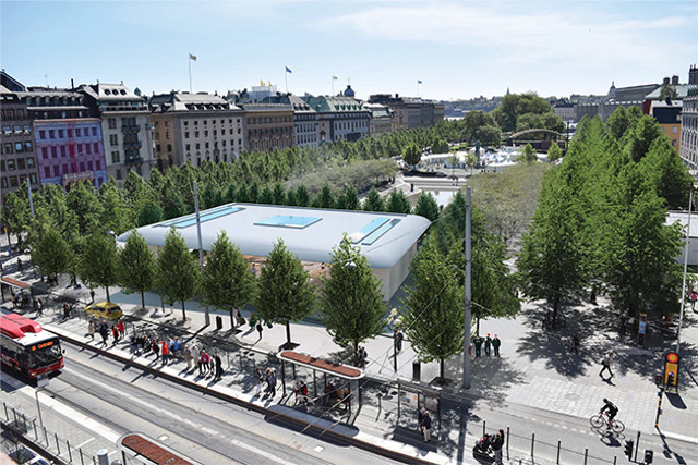 stockholm s new city council opposes planned apple store at kungstrdgrden