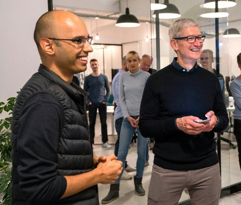 tim cook visits europe ahead of brussels privacy conference