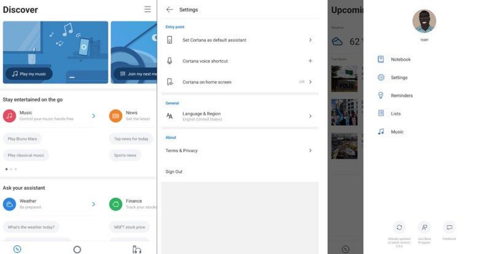 Microsoft Testing Revamped Version of Cortana App for iOS