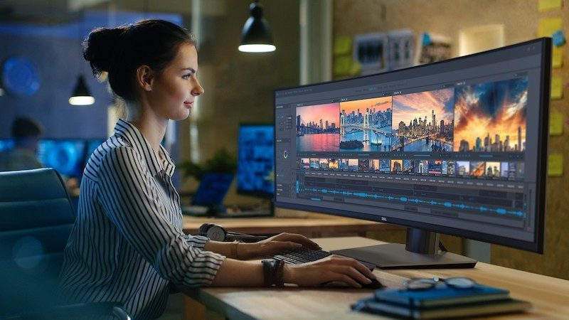 dell introduces world s first 49 inch curved ultra wide monitor with 5120x1440 resolution