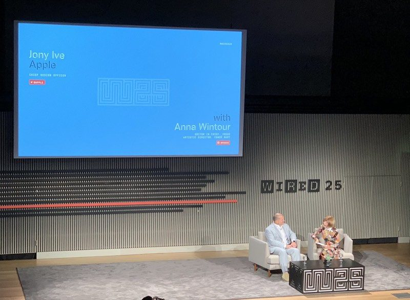 apple design chief jony ive talks secrecy his future and more at wired anniversary event