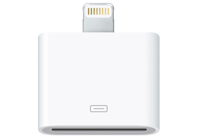 apple discontinues lightning to 30 pin adapter