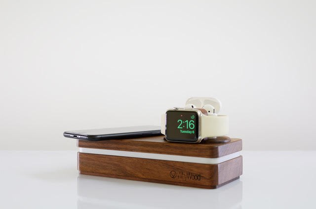 macrumors giveaway win a dockit w3 handmade iphone and apple watch dock from whywood