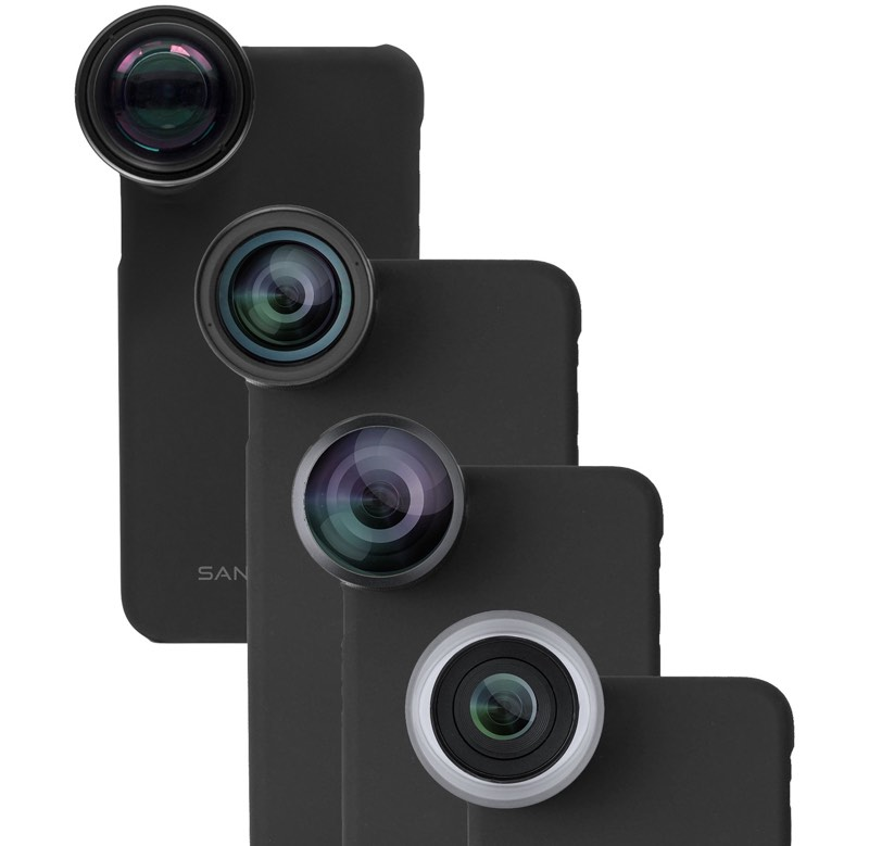 MacRumors Giveaway: Win a Pro Photography Lens Set For Your iPhone From SANDMARC