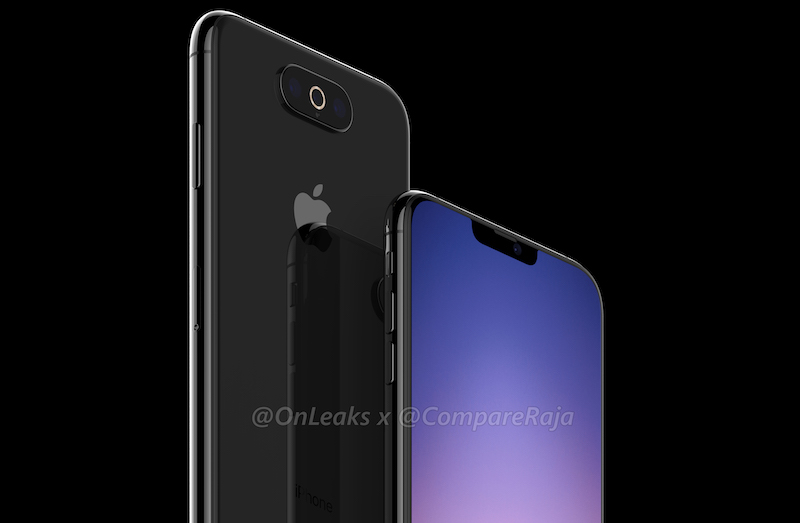 Another Possible Triple-Lens Camera Design in 2019 iPhone Shown Off in Renderings
