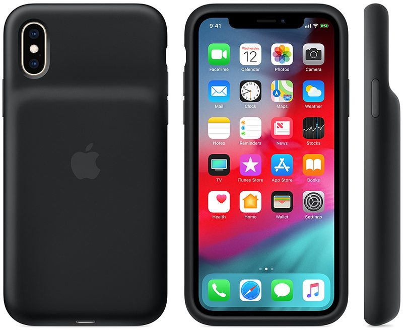 iPhone XS and XS Max Smart Battery Cases Each Have 1,369 mAh Capacity [Updated]