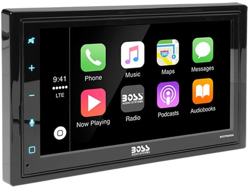 Boss Audio Launches New $210 CarPlay Receiver With 6.75-Inch Touchscreen