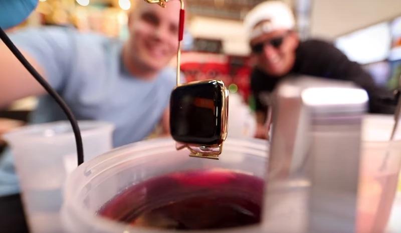 Watch an Apple Watch Get Dipped in 24-Karat Pure Gold