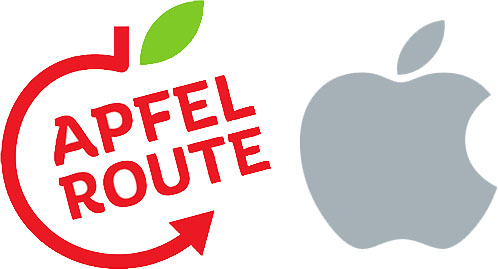 Apple Believes This German Cycling Path Logo Infringes on Its Own Logo