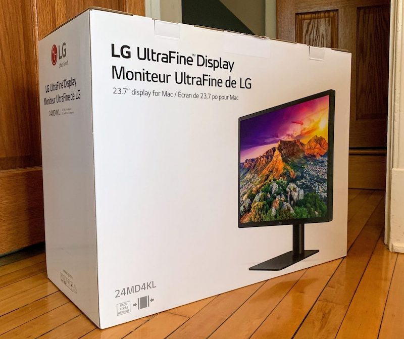 Apple Stores Quietly Carrying New LG 23.7-Inch UltraFine Display